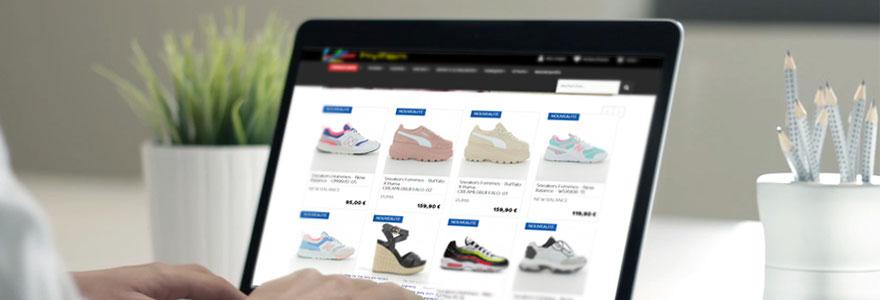 boutiques de chaussures